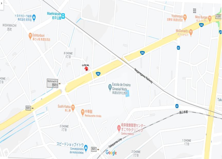 local -oh-nishi-machi